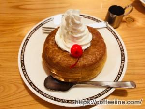 ホイップクリームに変更したコメダ珈琲店のミニシロノワール