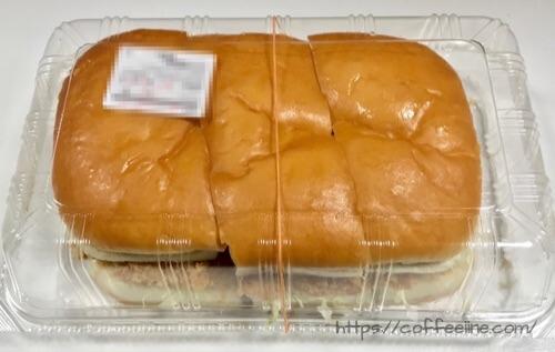 コメダ珈琲店でテイクアウトしたカツパン