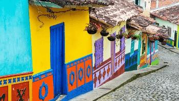 コロンビアの街並み