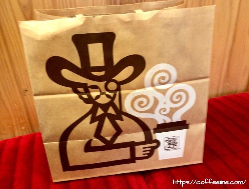 コメダ珈琲店のお持ち帰り用の紙袋