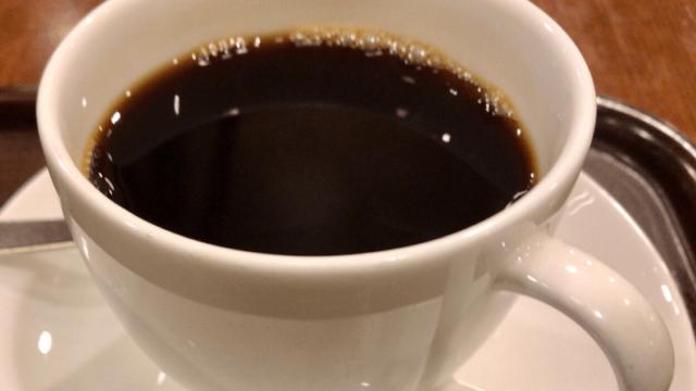 上島珈琲店のブレンドコーヒー
